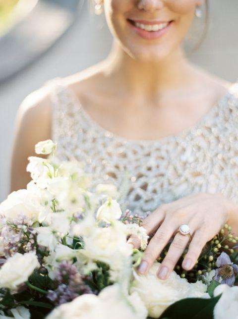 Enchanted Garden Wedding Ideas In Opal And Lavender