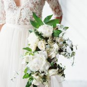Romantic Lace and Greenery Wedding Inspiration