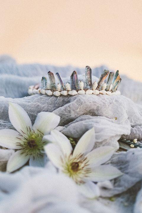 Mystical Crystal Headpiece for a Mermaid Bride