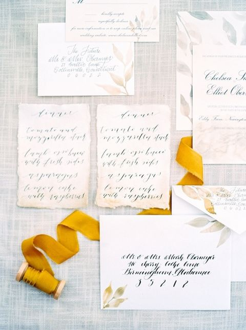 Harvest Yellow Invitations for