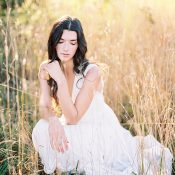 Luminous Magic Hour Bridal Photos