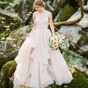 Enchanted Forest Blush Bridal Shoot