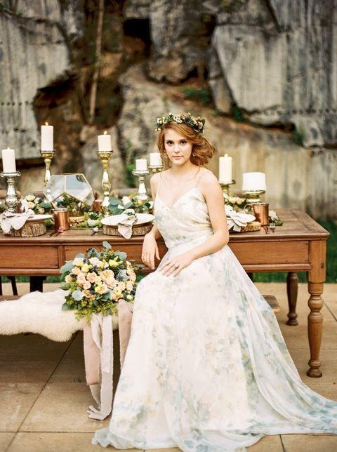 Rustic Wedding Dress 81 Trend Enchanted Forest Blush Bridal