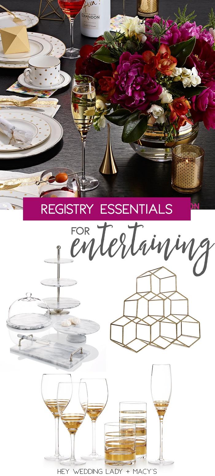 Top Wedding Registry Picks With Macy S Hey Wedding Lady