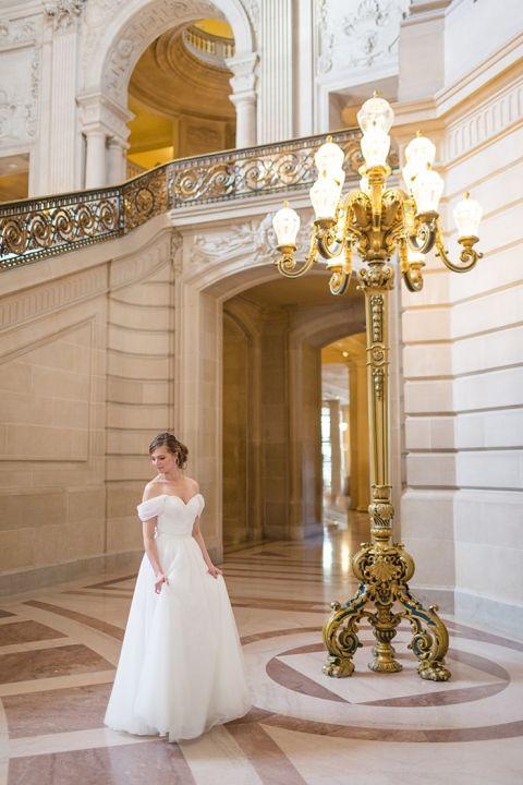 Dreamy Bride in San Francisco City Hall
