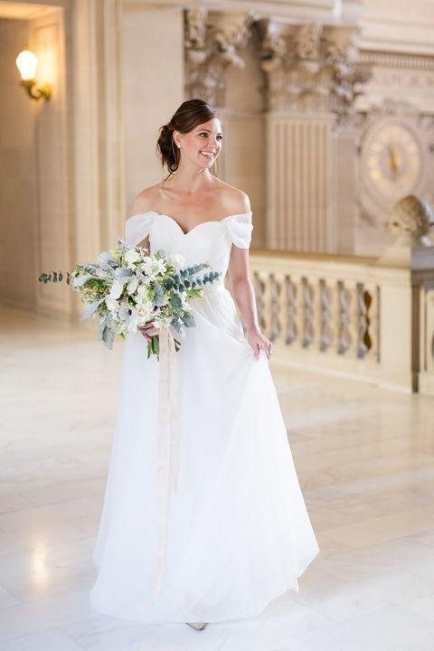Naturally Beautiful City Hall Wedding Ideas Hey Wedding Lady