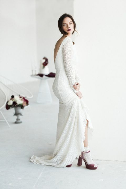 Moody Beauty For Fall Bridal Style Hey Wedding Lady