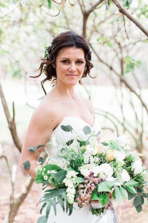 Elegant Woodland Wedding Shoot