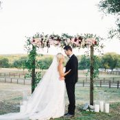 Texas Glam Jewel Tone Ranch Wedding