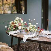Mid Century Modern Autumn European Wedding Sghoot