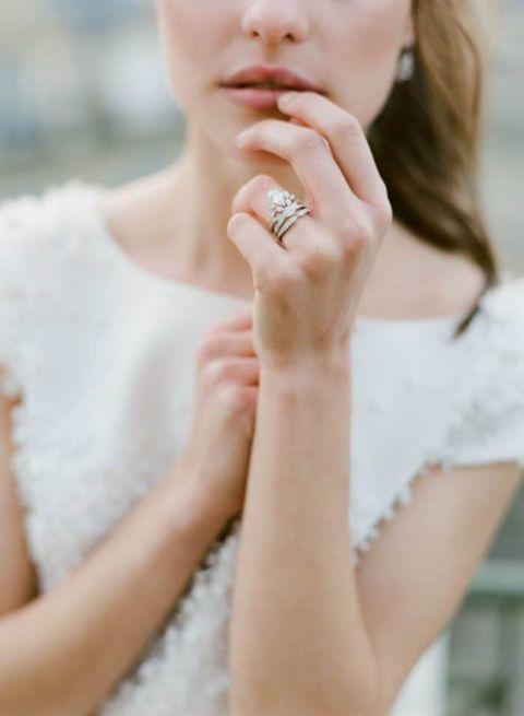 Stylish European Bridal Style