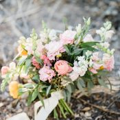 Magic Hour Boho Bouquet in the Desert