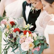 Colorful French Country Garden Bouquets