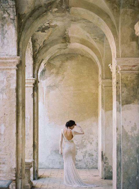 Dramatic European Glam Wedding Photos