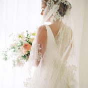 Classic Fine Art Bride with a Lace Veil