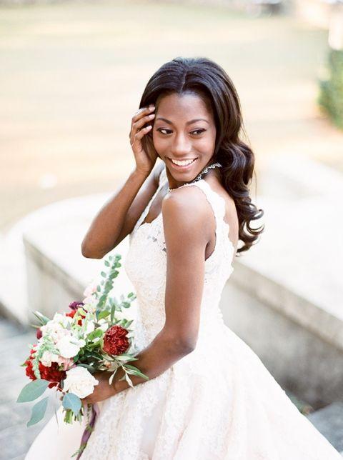 Vintage Bridal Beauty in Poppy and Blush - Hey Wedding Lady
