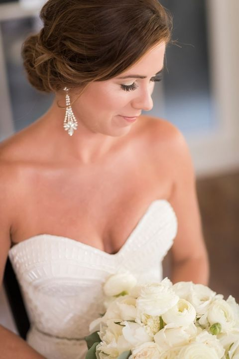 Romantic Crystal Bridal Earrings