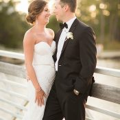 Stylish Black Tie Wedding with Southern Hospitality