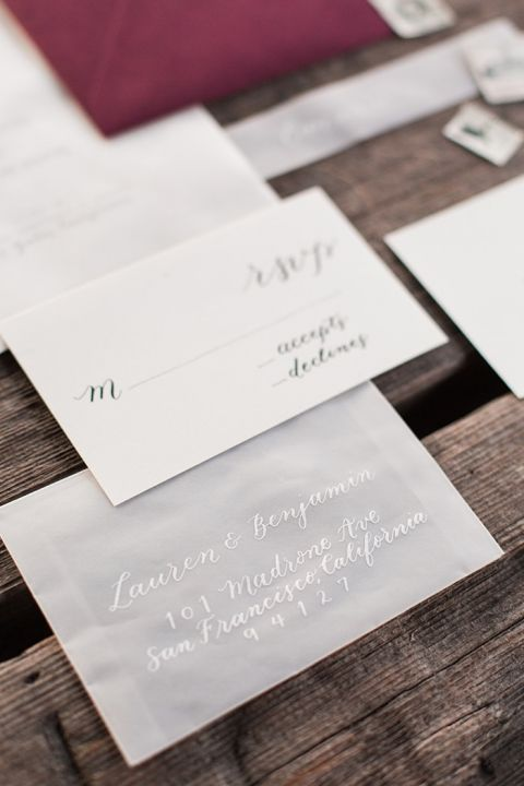 Minimal Gray and White Stationery Suite with Black Lettering