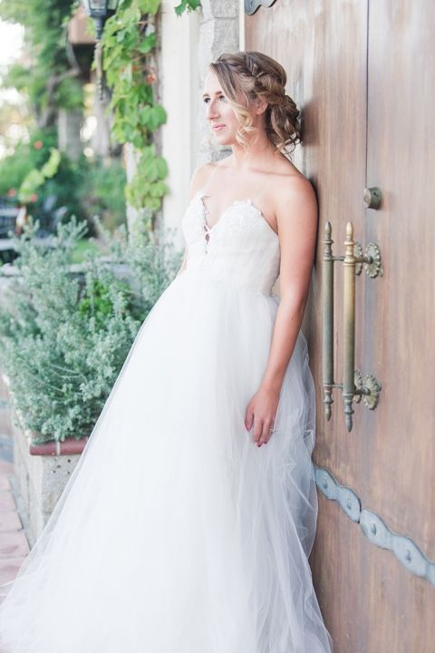 Modern Princess Bride Wedding Dress from Ju.lee Collection