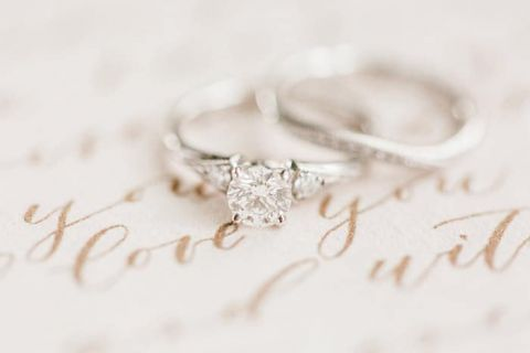 Elegant Vintage Engagement Ring