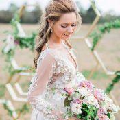 Glamorous Vintage Bridal Style
