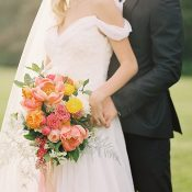 Stylish Timeless Wedding Looks for the Bride and Groom