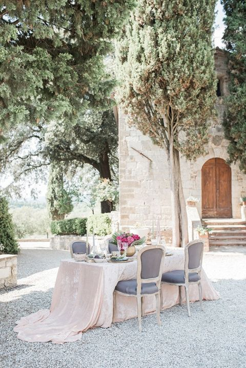 Italian Castle Reception for an Intimate Destination Wedding