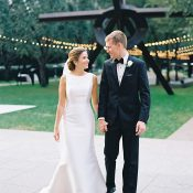 Chic Modern Art Inspired Wedding