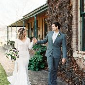 Winter Wedding at Putta Bucca House