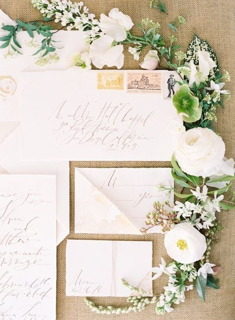 Organic Desert Neutral Invitation Suite