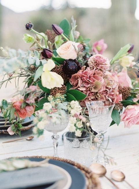 Flowers In The Desert Bohemian Festival Wedding Ideas