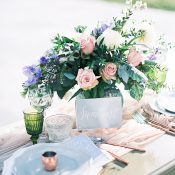 Rose Gold and Pastel Sweetheart Table