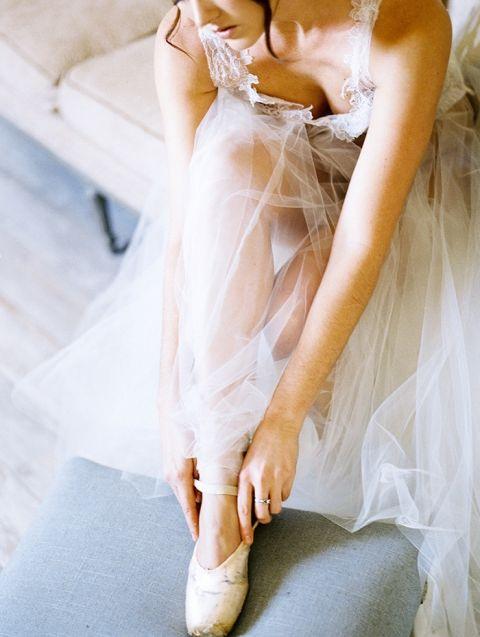 Romantic Ballerina Inspired Bridal Editorial