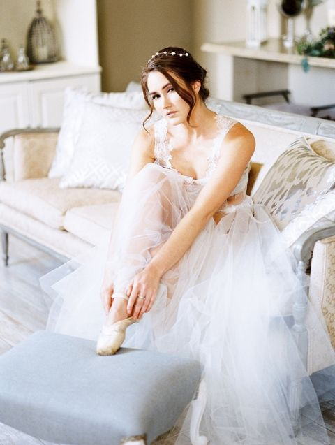 Ballerina Bride for a Dancer's Dream Wedding