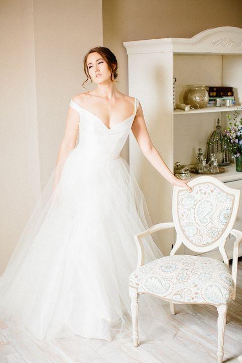 Dreaming Wedding Dress 55 Ideal Off the Shoulder Dream