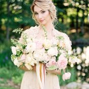 Romantic Blush and Champagne Wedding Inspiration