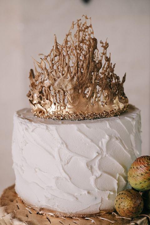 Iron Throne Wedding Cake
