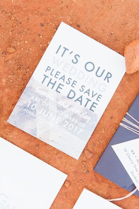 Modern Purple Wedding Invitations