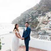 Coastal Wedding Ceremony in Positano