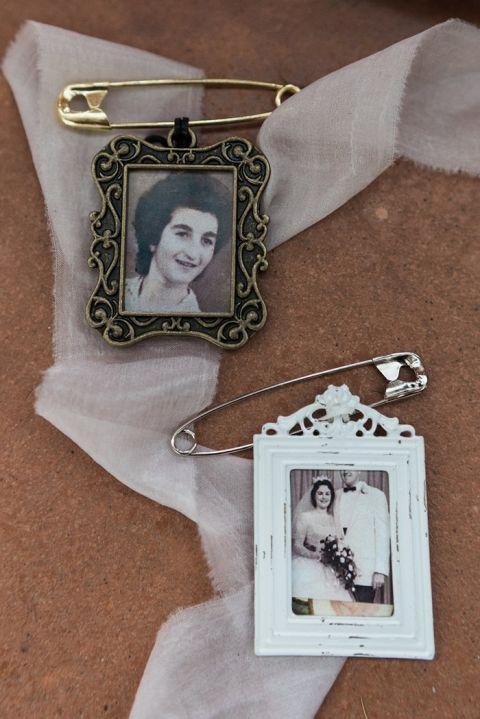 Keepsake Bouquet Charms for Grandparents