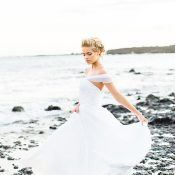 Enchanted Hawaiian Beach Bride Portraits