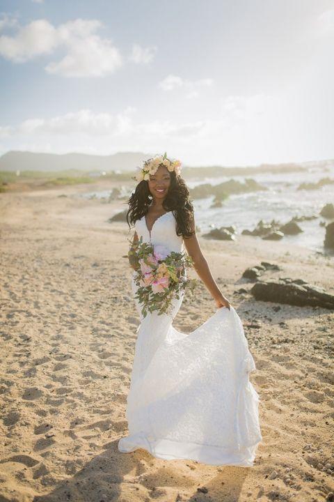 Dreamy Hawaiian Bride