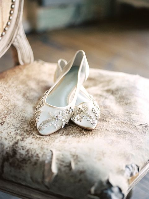 Crystal Embellished Bridal Shoes