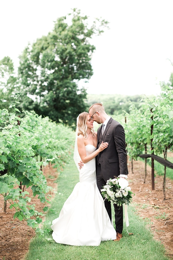 Timeless Modern Wedding with Rustic Chic Style