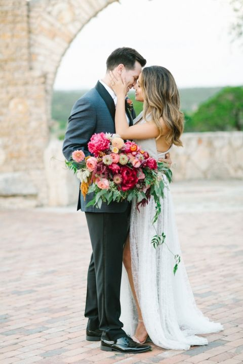 Colorful european style for a chic modern wedding hey for Chic modern boutique
