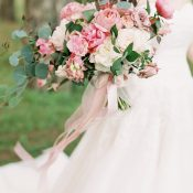Fairy Tale Bridal Bouquet in Shades of Pink