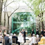 Sculpture Garden Wedding Ceremony at the Birmingham Museum of Art