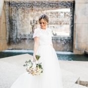 Industrial Chic Meets Boho Bride