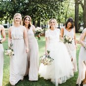 Pastel Chic Bridal Party